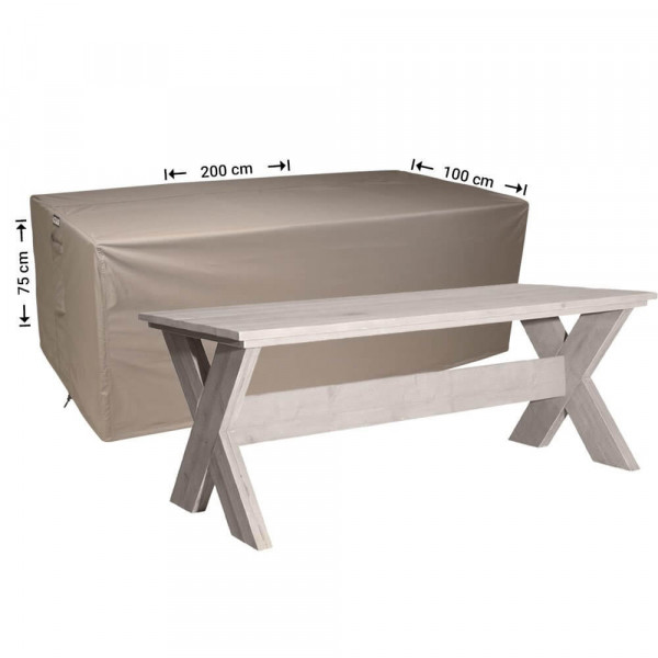 Protection cover for table 200 x 100 H: 75 cm