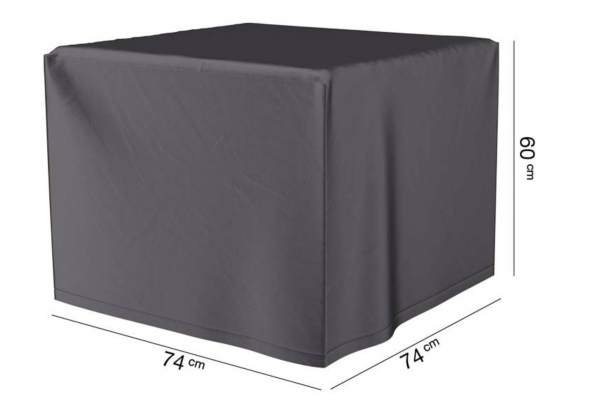 Square Gas Fireplace Cover 74 x 74 H: 60 cm