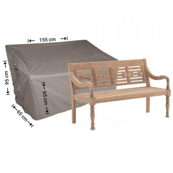 Cover for garden bench 155 x 65 H:95/65cm