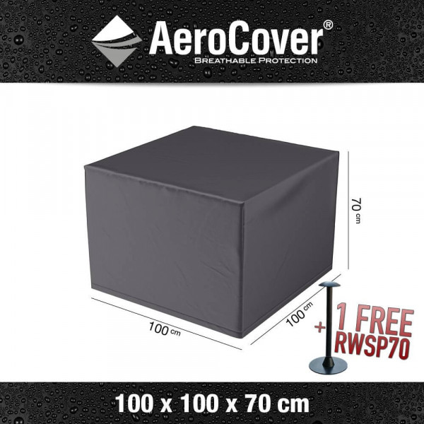 Protection cover for rattan lounge chair 100 x 100 H: 70 cm