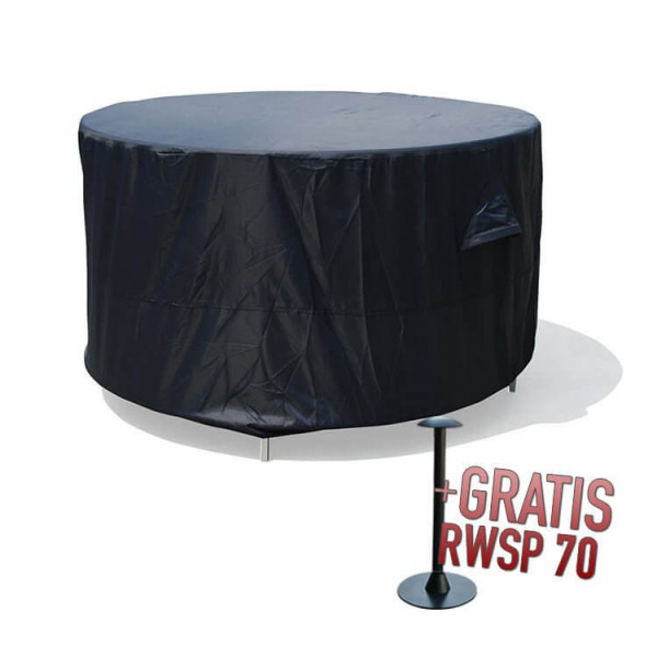 Round table cover Ø: 200 & H: 85 cm
