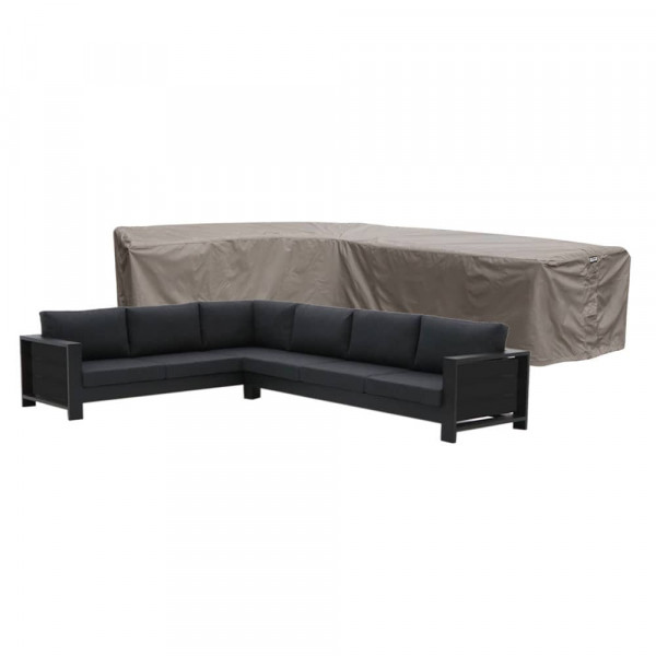 L-shaped outdoor sofa cover 355 x 275 x 100, H: 70 cm