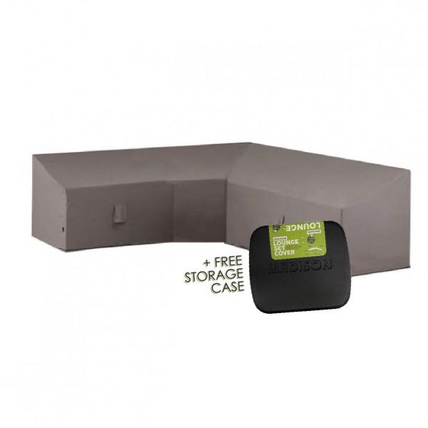 High corner sofa cover 270 x 270 H: 90/65 cm