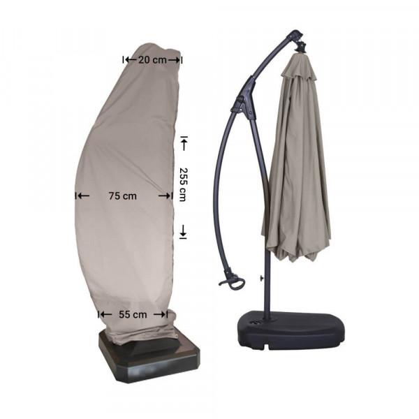 Parasol cover for cantilever umbrella H: 255 cm