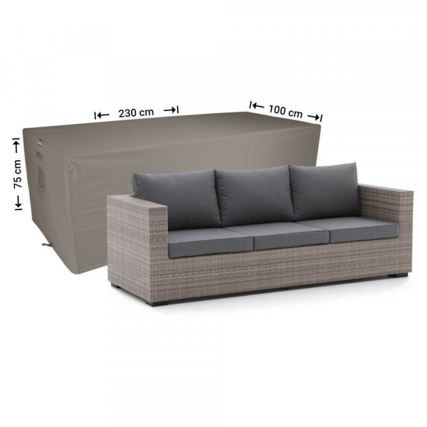 Lounge sofa protection cover 230 x 100 H: 75 cm