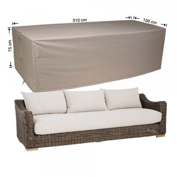 Outdoor sofa cover 310 x 100 H: 75 cm