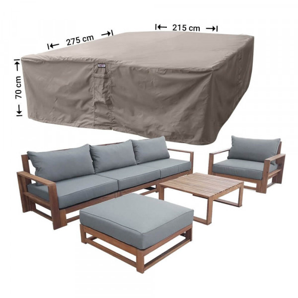 Cover for outdoor lounge set 275 x 215 H: 70 cm