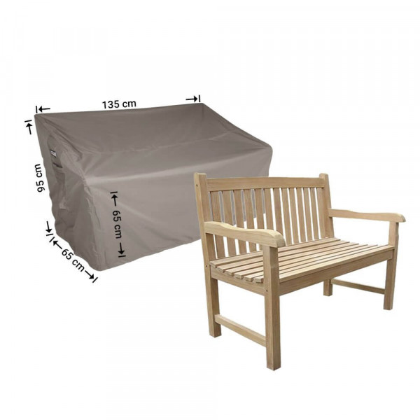 Garden bench cover 135 x 65 H:95/65cm