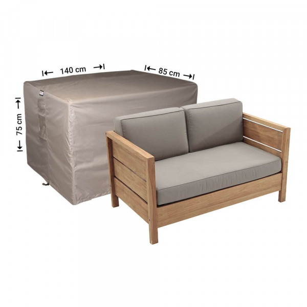 Cover for rattan sofa 140 x 85, H: 75 cm