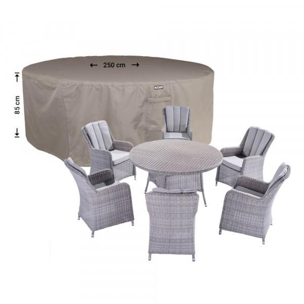 Cover for circular patio set Ø: 250cm & H: 85 cm