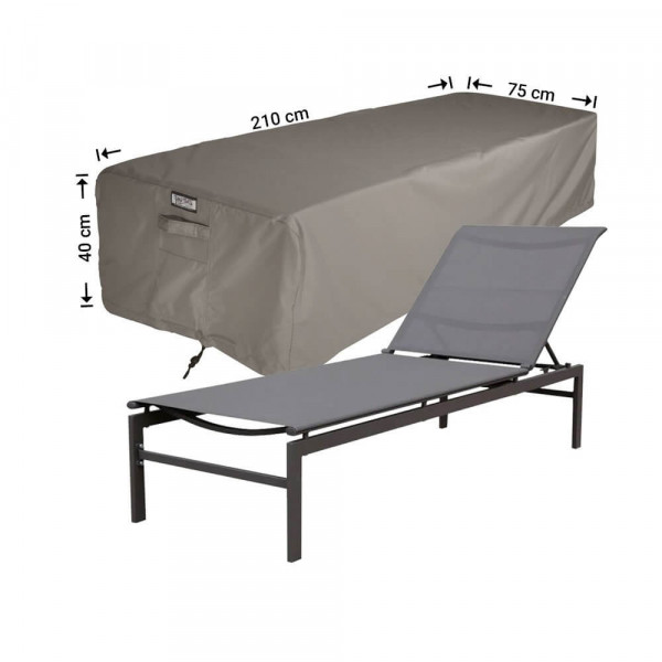 Cover for a beach bed 210 x 75 H: 40 cm