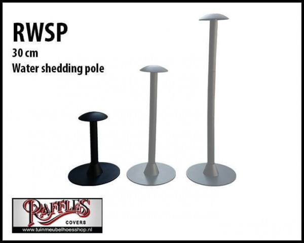 Raffles water shedding pole 30cm
