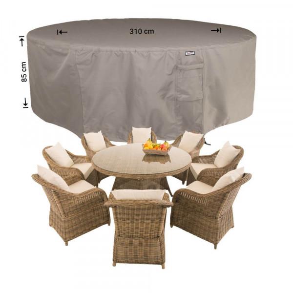 Cover for circular patio set Ø: 310cm & H: 85 cm
