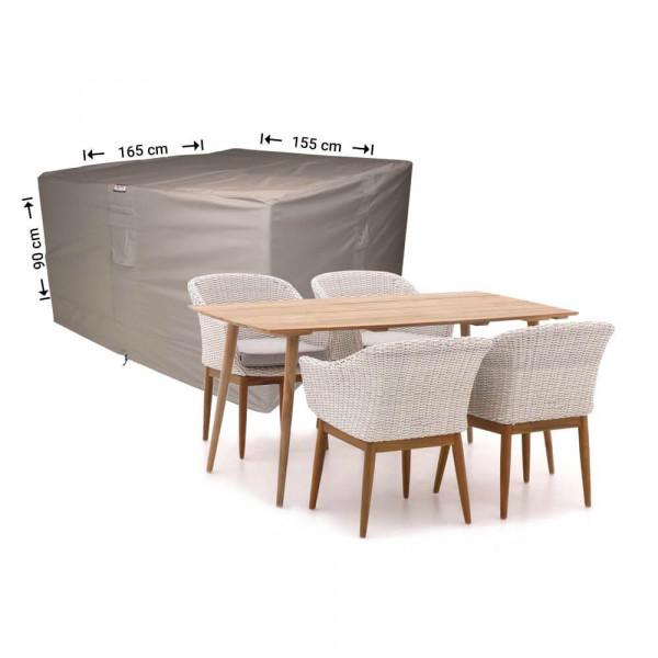 Garden furniture set cover 165 x 155 H: 90 cm