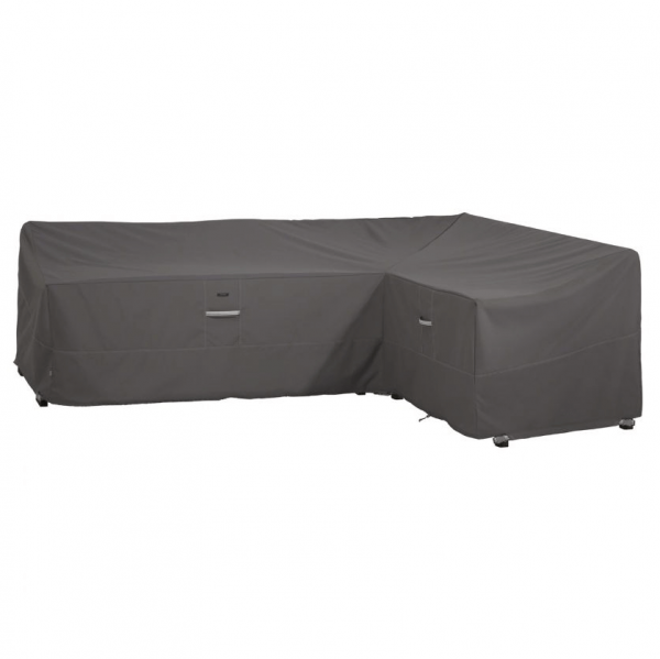 L-shaped sofa cover 264 x 120 H: 78 cm