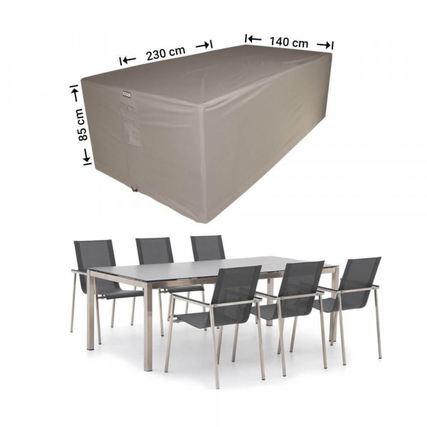 Garden furniture protection cover 230 x 140 H: 85 cm