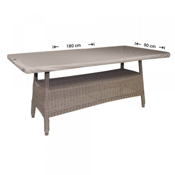 Weather cover for table-top 180 x 90 cm
