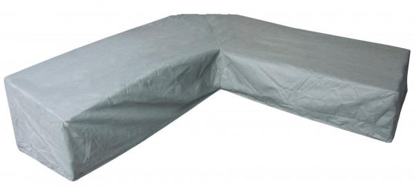 High corner sofa cover, trapeze corner 270 x 270 H: 90 / 60 cm