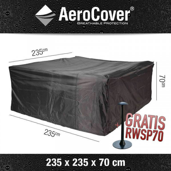 Protection cover for a garden lounge set 235 x 235 H: 70 cm