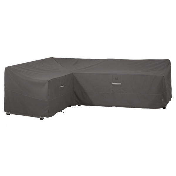 L-shaped sofa cover 210 x 264 H: 78 cm