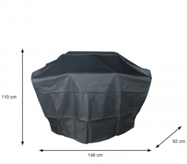 Large gas BBQ cover 148 x 61 H: 110 cm