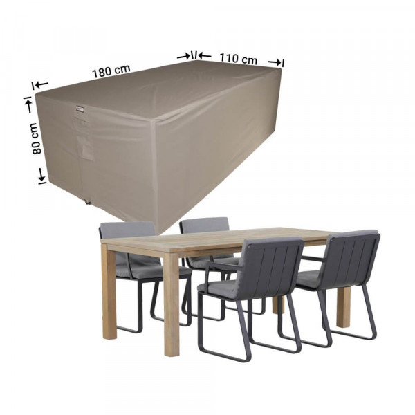 Outdoor furniture set cover 180 x 110 H: 80 cm