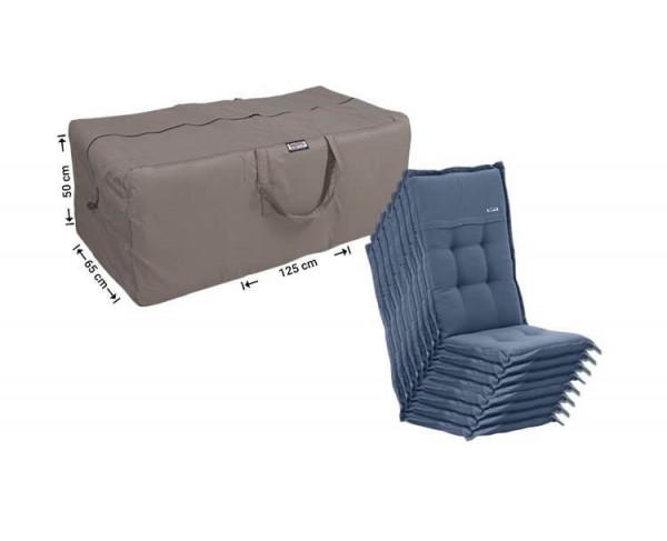 Garden cushions storage bag 125 x 65 H: 50 cm