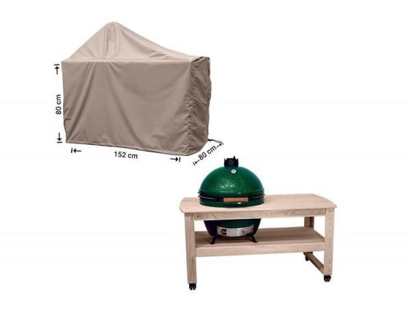 Big green egg BBQ cover 152 x 80 H: 80 / 140 cm