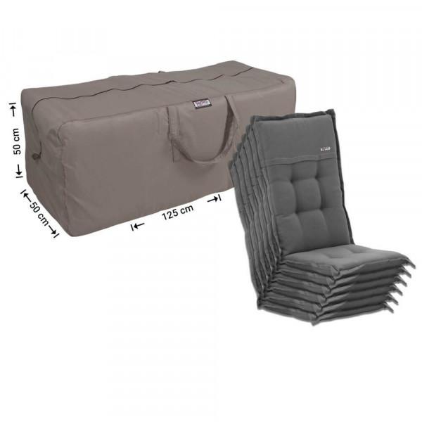 Garden cushions storage bag 125 x 50 H: 50 cm