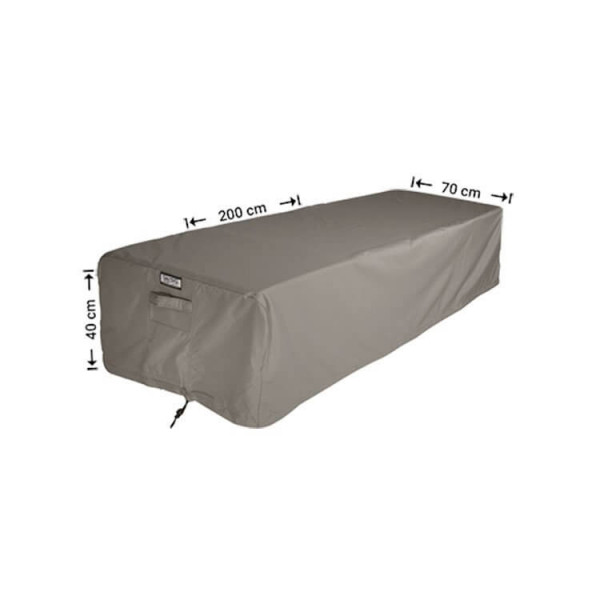 Cover for poolbed 200 x 70 H: 40 cm