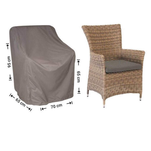 Weather cover for garden chair 70 x 65 H:95/65cm