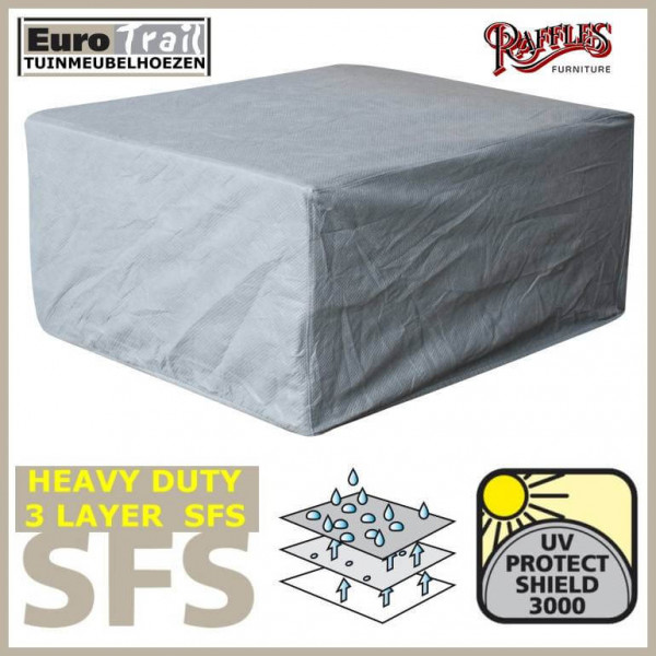 Cover for lounge patio chair 110 x 110 H: 85 cm