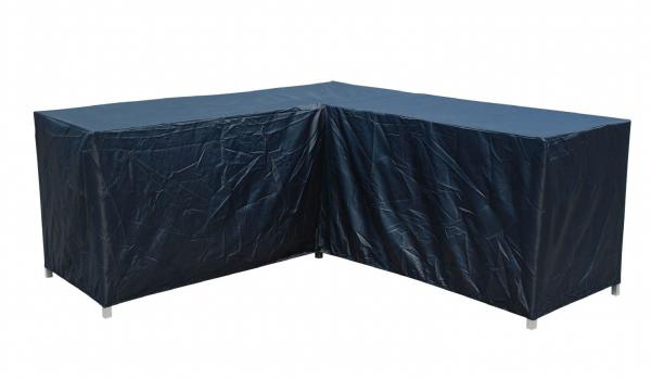L-shaped lounge sofa cover 340 x 270 x 96 H: 65 cm