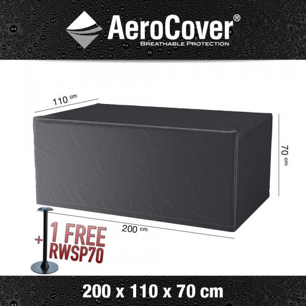 Garden table protection cover 200 x 110 H: 70 cm