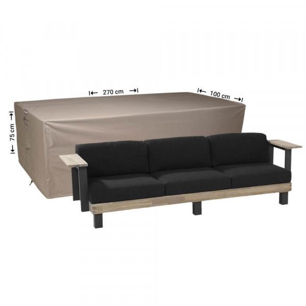 Patio sofa cover 270 x 100 H: 75 cm