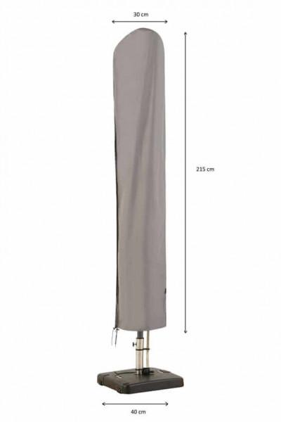 Protection cover for garden parasol H: 160 cm