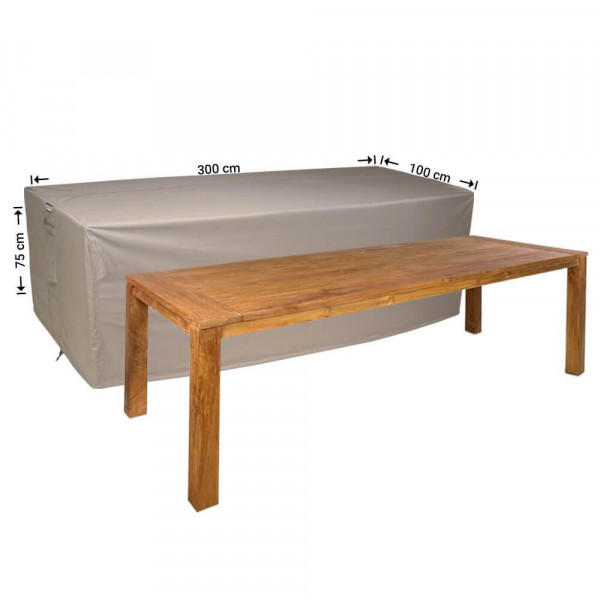 Outdoor cover for table protection 300 x 100 H: 75 cm