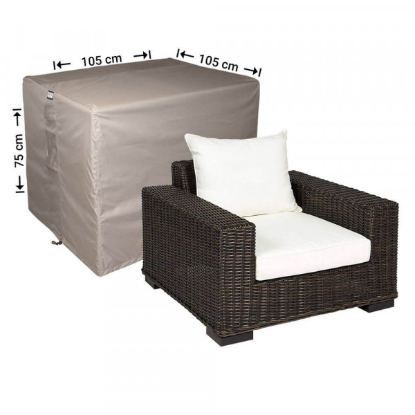 Protection cover for lounge chair 105 x 105 H: 75 cm