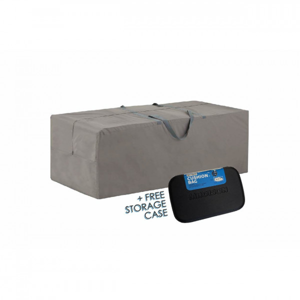 Storage bag for outdoor cushions 175 x 80 H: 60 cm