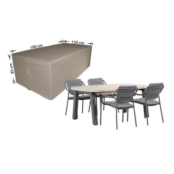 Garden furniture cover for outdoor furniture set 180 x 135 H: 85 cm
