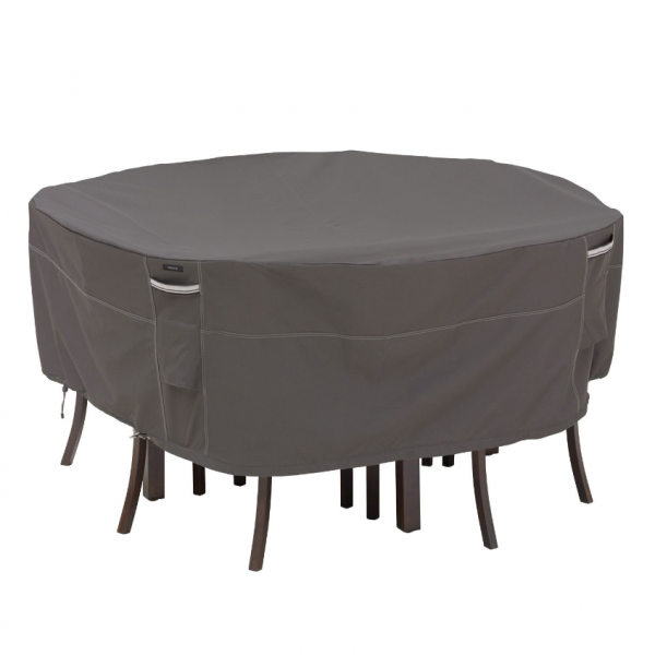Square outdoor dining set cover 168 x 168 cm H: 58 cm