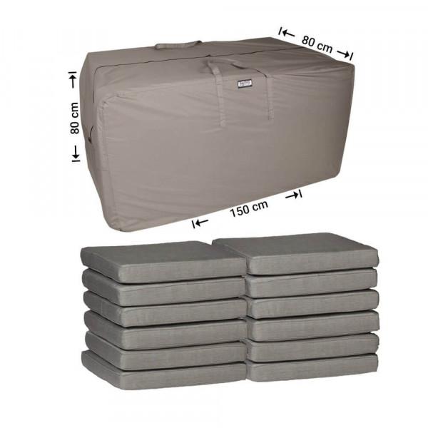 Patio furniture cushion storage bag 150 x 80 H: 80 cm