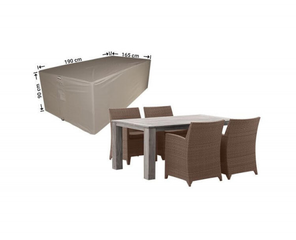 Cover for outdoor furniture set 190 x 165 H: 90 cm