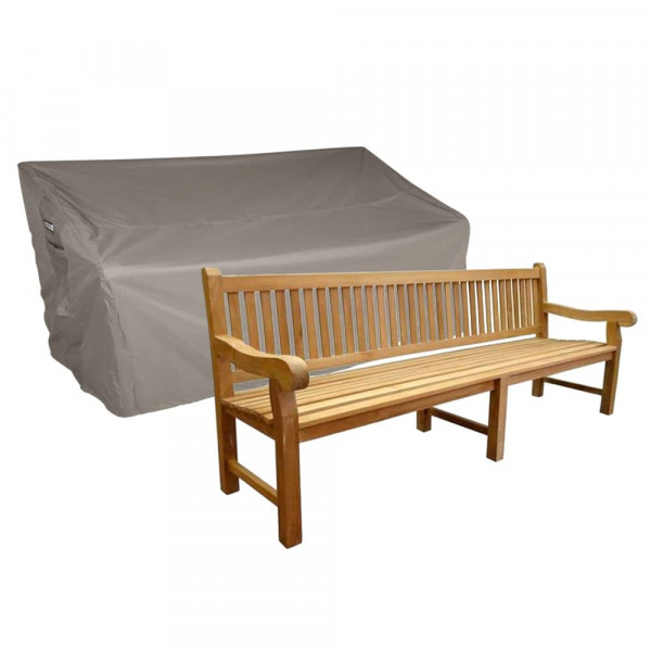 Cover for large garden bench 240 x 75 H: 95/65 cm