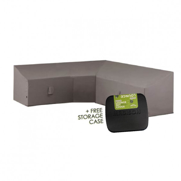 High corner sofa cover 300 x 300 H: 90/70 cm