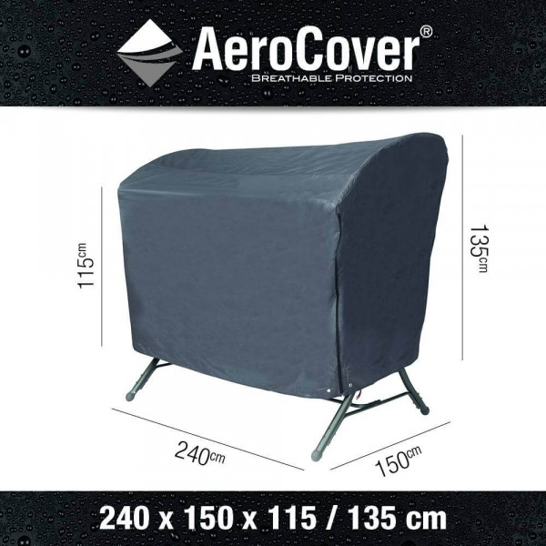 Swing chair cover 240 x 150 H: 135 / 115 cm