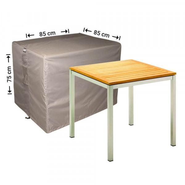 Square garden table cover 85 x 85 H: 75 cm