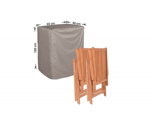 Cover for foldable garden chairs 40 x 65 H: 100 cm