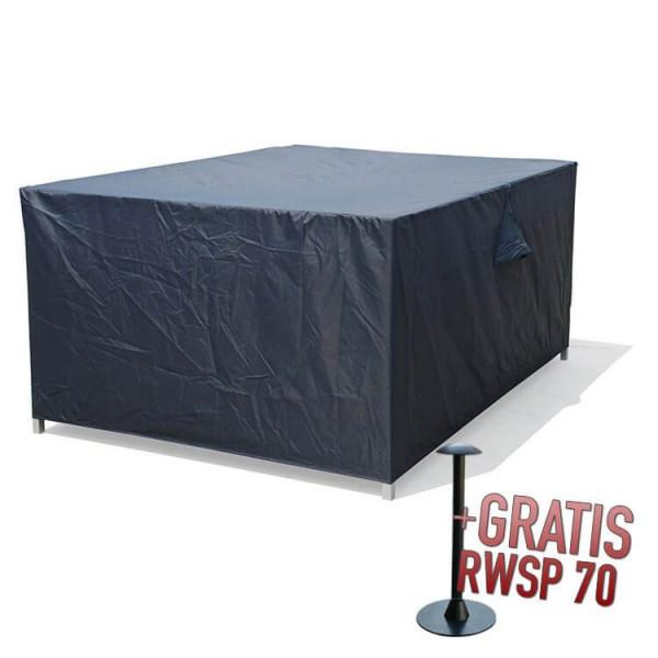 Hocker Cover 80 x 80 H: 40 cm