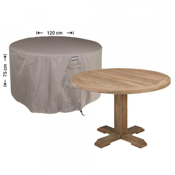 Round garden cover for furniture set Ø 120 cm & H: 75 cm
